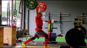 Jordan Stanley Split Jerk 120kg